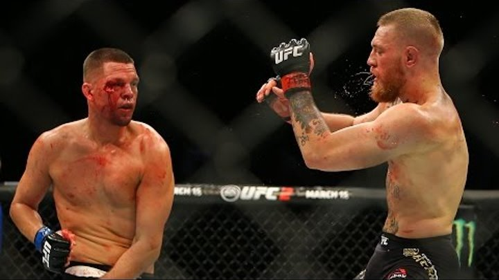 Conor Mcgregor vs Nate Diaz 2 Full Fight Highlights | Конор Макгрегор vs Нейт Диаз 2 лучшие моменты