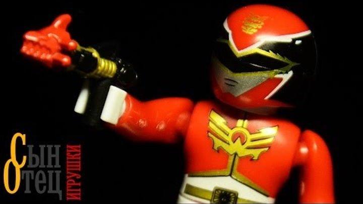 Видео обзор: Mega Bloks | Могучие рейнджеры: Мегасила | Power Rangers: Megaforce | 1 серия | 5636