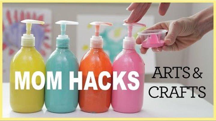 MOM HACKS | Arts & Crafts (ep. 2)