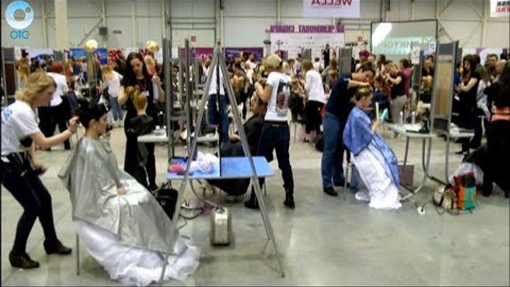 Причёска как произведение искусства. Чем удивили участники чемпионата среди парикмахеров?