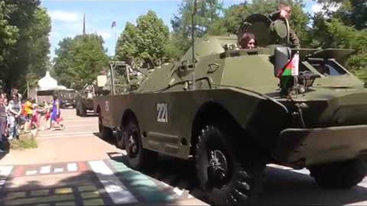 Второй ежегодный Международный бронепробег Дорога мужества Москва -Брест -Москва