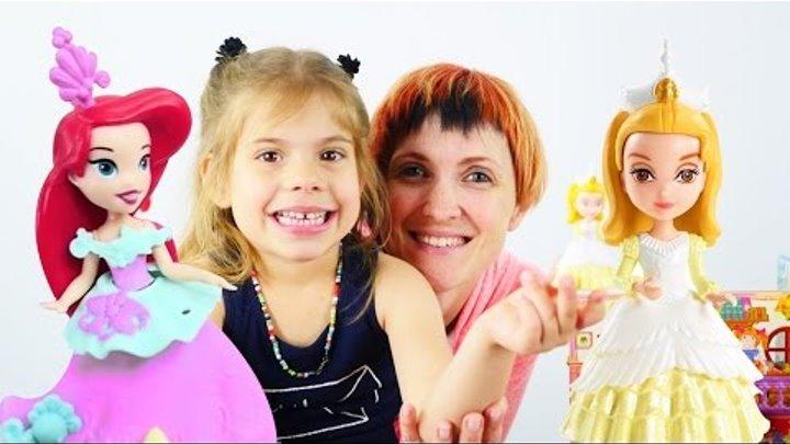Видео для детей Маша Капуки Кануки. Волшебная книга и Ариэль. Игры для детей
