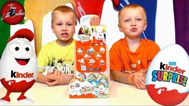 ВАУ КИНДЕРИНО! ВОЛШЕБНЫЕ Шоколадные яйца КИНДЕР СЮРПРИЗ - ПРОФЕССИИ! Kinder Surprise NEW