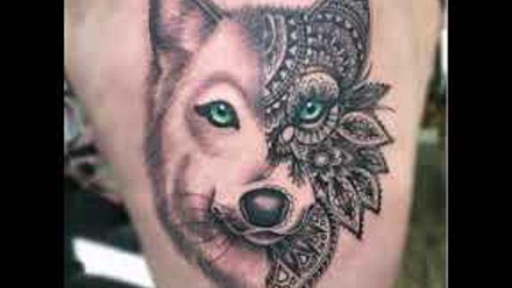 Значение тату волк - фото примеры готовых рисунков тату на теле