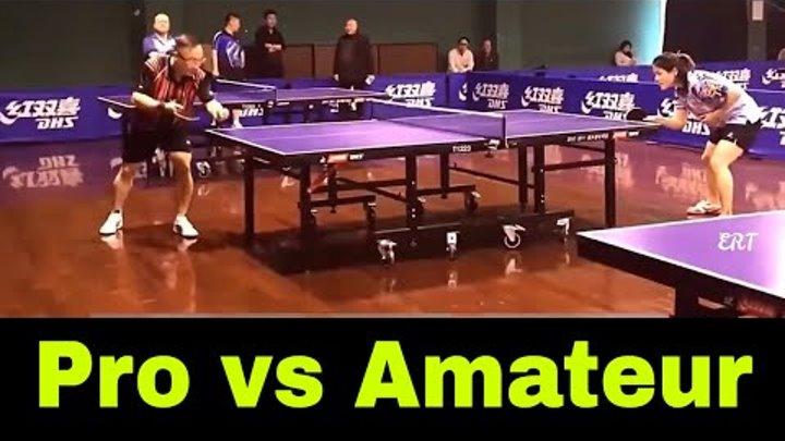 Table Tennis China: Pro vs Amateur