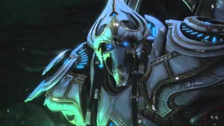Starcraft 2 - Kerrigan vs Artanis vs Zerg-Protoss Hybrid - Legacy of the Void Cinematic
