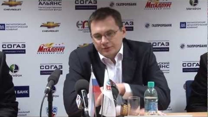 HC Metallurg. Metallurg - Vityaz. Press. 22.09.2011