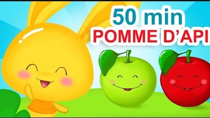 Pomme De Reinette Et Pomme D Api 50 Min De Comptines Titounis