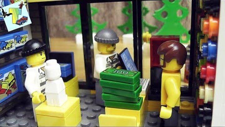 ЛЕГО СИТИ I ПОБЕГ ИЗ ТЮРЬМЫ I ЧАСТЬ 2 I ПОЛИЦЕЙСКИЙ УЧАСТОК Lego CITY 60141