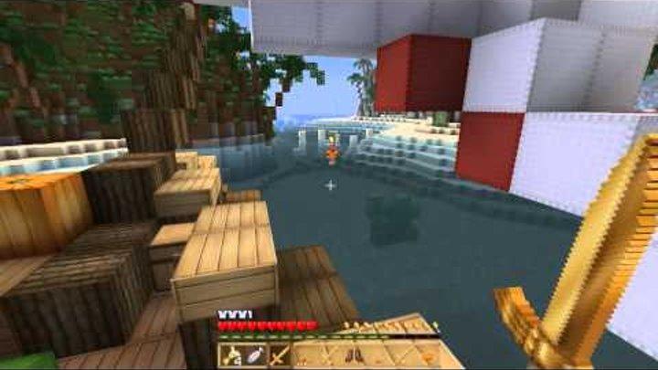 Minecraft Голодные игры #39 Капитан Винди LetsGoodPlays!