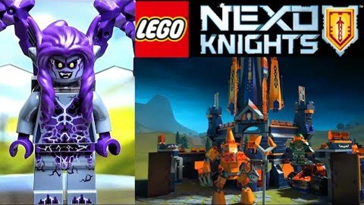 Лего Нексо Найтс 70353 Летающая Горгулья и Замок Найтон Обзор LEGO 2017 Nexo Knights 4 сезон