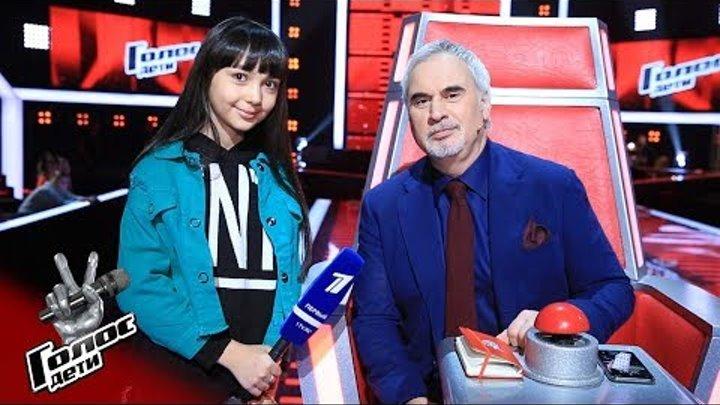 Интервью с Наставником. Валерий Меладзе - Голос.Дети - Сезон 5