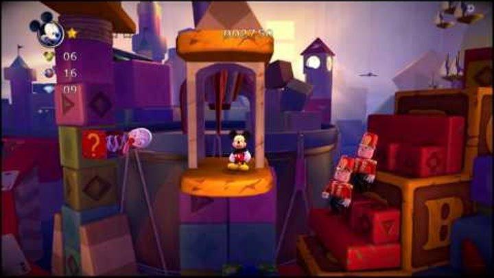 Микки Маус и Замок Иллюзий часть 2. Мультфильм про игру.