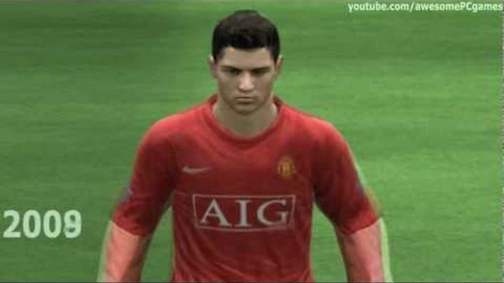Ronaldo from FIFA 05 to 12 | HD 1080p
