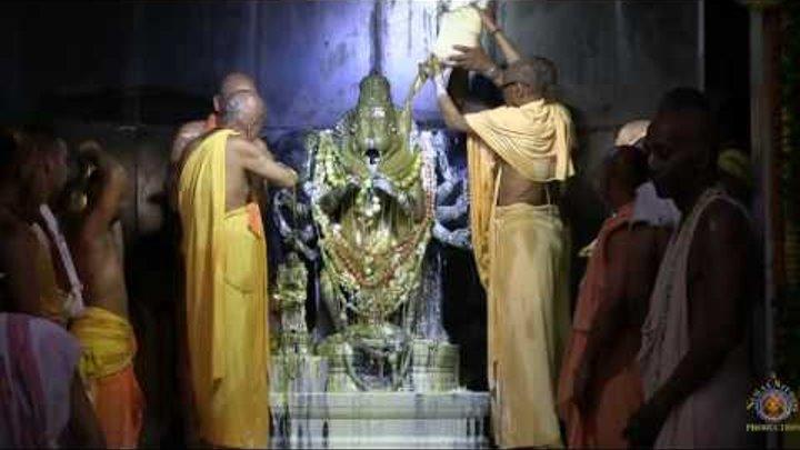 2016 Nrisimhadeva Caturdasi Abhisheka in Sri Dhama Mayapur. Full Length.