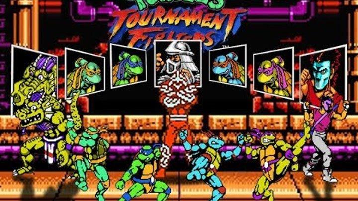 Черепашки Ниндзя вырвались из 1993 года Обзор / Teenage Mutant Ninja Turtles: Tournament Fighters