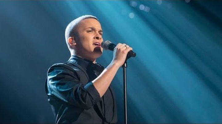 Jahmene Douglas sings Abba's I Have A Dream - Live Week 8 - The X Factor UK 2012