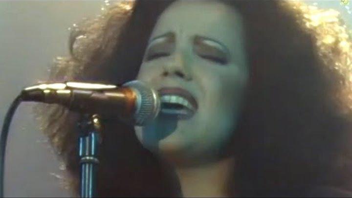 """Antonella Ruggiero - Matia Bazar """"ANGELINA """" LIVE ' 87"""
