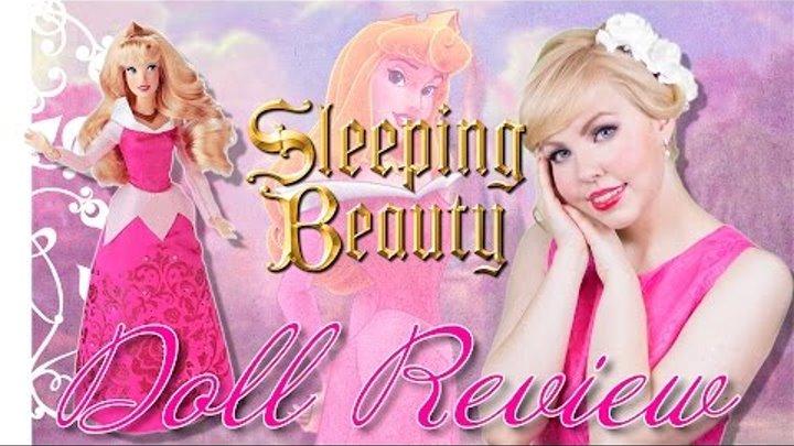 Кукла Дисней Аврора (Обзор на русском языке)   Classic Disney Princess Aurora Doll Revi