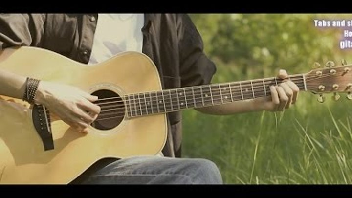 "Ленинград - Свобода (OST ""Бумер 2"") на гитаре"