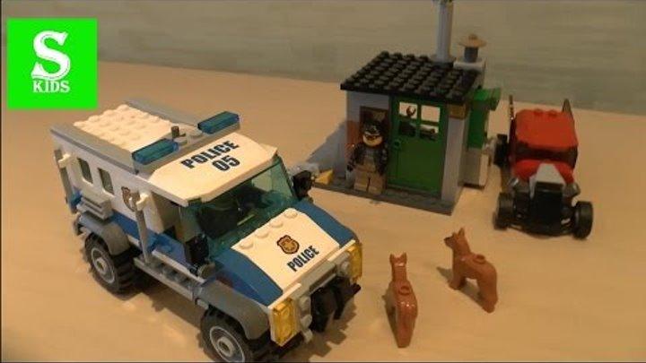 LEGO City Полиция Беглецы #Лего Мультики LEGO CITY
