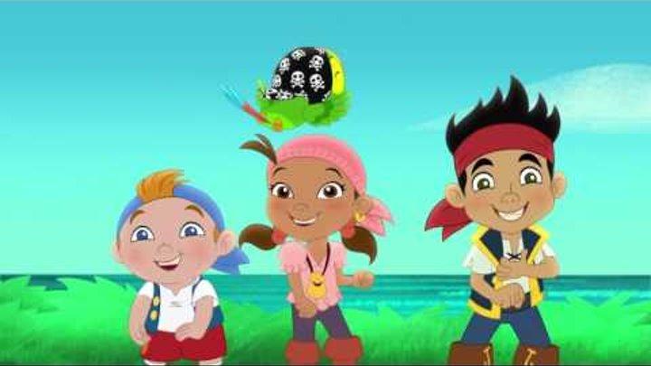 Джейк и пираты Нетландии - Поющие камни! / Голос королевы русалок! - Серия 10, Сезон 3