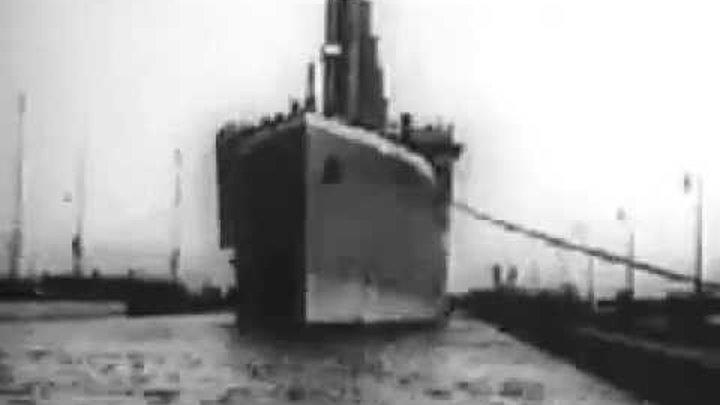 Реальная Видеозапись Титаника 1912 год.