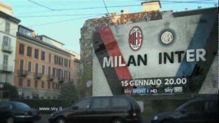 Sky Promo Milan Inter 2012 - Ossessione da derby