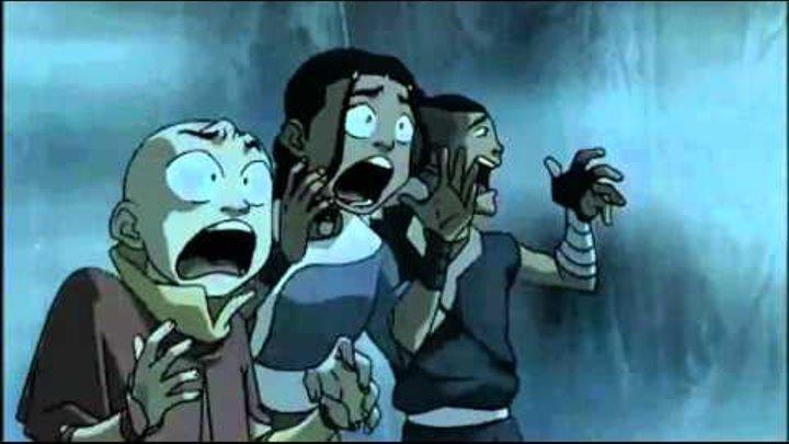 Аватар Легенда об Аанге 2 сезон 4 серия Болото The Swamp Прикол XD