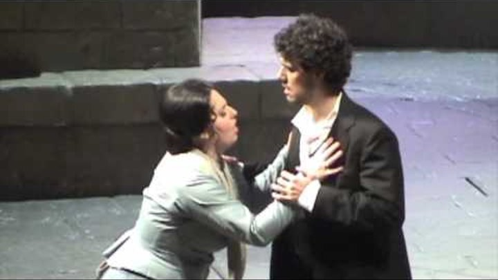 "Thiago Arancam & Lyudmila Monastyrskaya - Cavalleria Rusticana: ""Tu qui Santuzza!"" (duetto)"