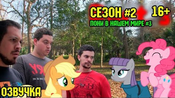 Пони в нашем мире (сезон 2, эпизод 3) [ОЗВУЧКА] 16+ / Pony meets World - S2, E3 (MLP in real life)