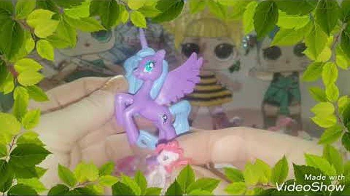 Сказочный Пони Виль-Апрель.День #9. My Little Pony. Сказка о Пони. Сюрприз в яйце
