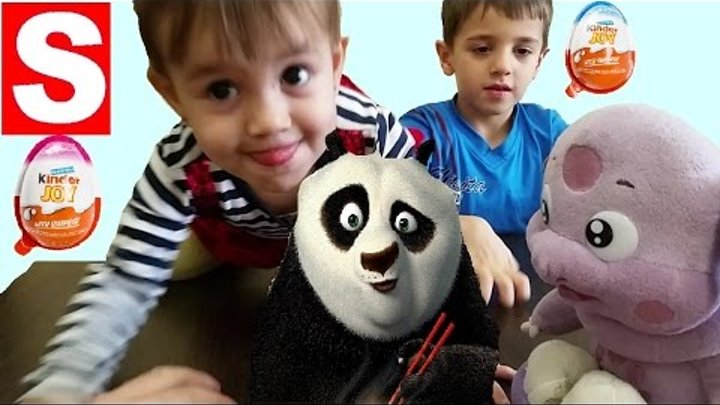 Kinder Kung Fu Panda 3 2016 | NEW Kinder Joy for Boys and Girls | NEW Surprises for Kids