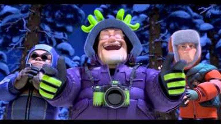Медведи Буни: Таинственная зима - Трейлер (дублированный) 1080p
