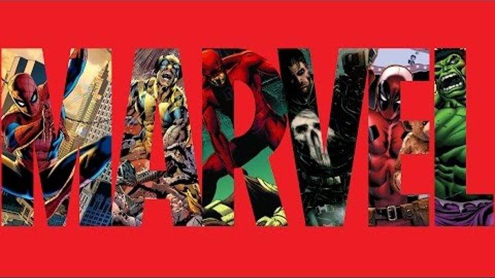 Все фильмы по комиксам Marvel Comics с 1973 по 2016.