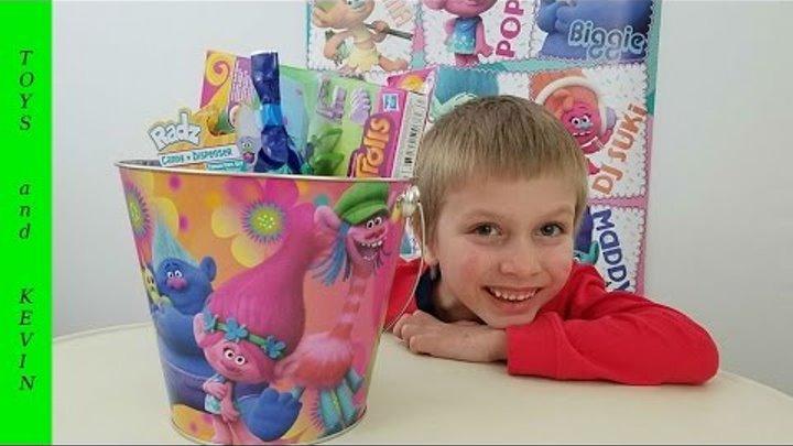 Волшебное ведерко с сюрпризами ТРОЛЛИ Лего тролли Детские игры и видео для детей игрушки ТРОЛЛИ 2016