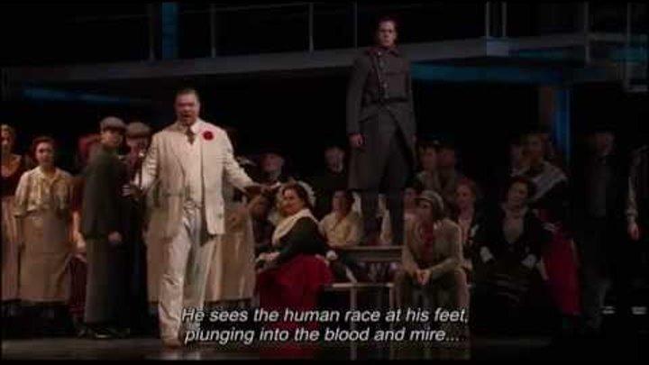 Rene Pape Le veau d'or Faust 2011