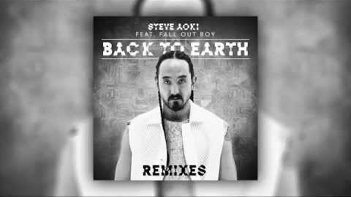 Steve Aoki feat. Fall Out Boy - Back To Earth (The Chainsmokers Remix) [Cover Art]