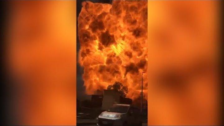 Мощный взрыв прогремел около аэропорта в Италии