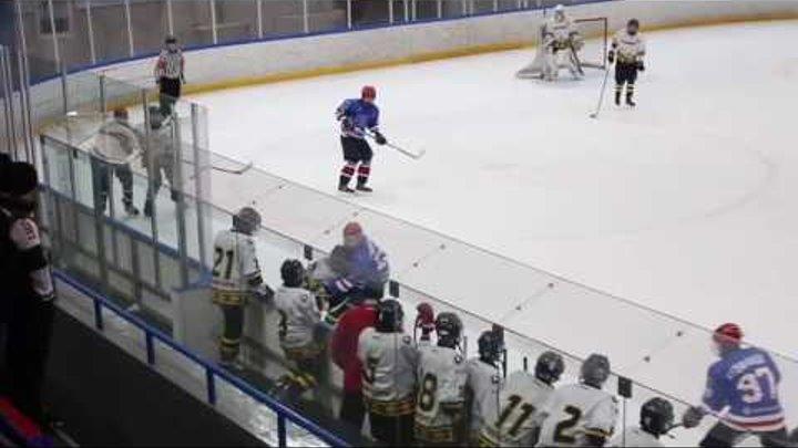Первенство СПБ по хоккею 2003 г р Финал 4 х СКА Северсталь 28,03,2017