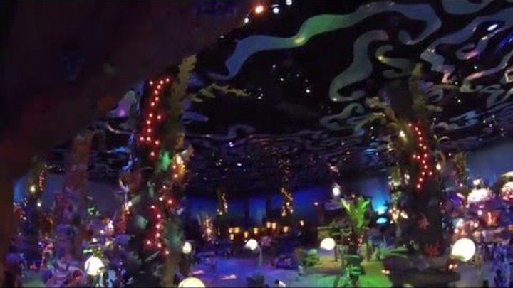 Япония.Токийский диснейленд. Русалочка Ариэль. Развлечения в Японии. Disneyland, Disney Sea 2013 ч.5