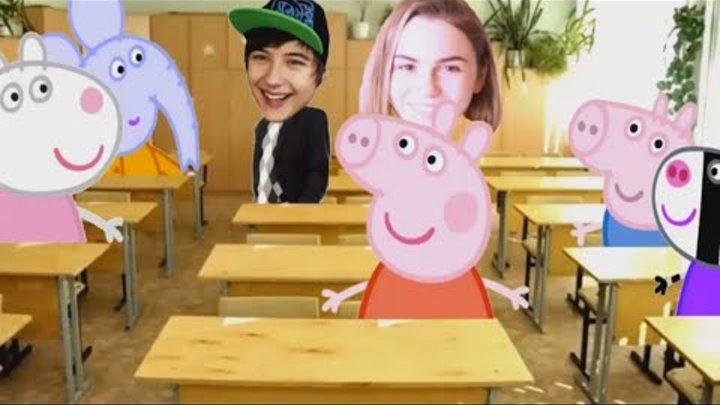 Свинка Пеппа в классе блогеров. Ивангай позвал Пеппу в класс блоггеров.
