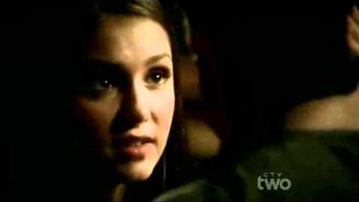 Дневники вампира 3 сезон 9 серия-отрывок ,Дэймон и Елена