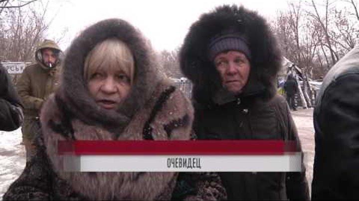 Боевики расстреляли мирных граждан в пункте пропуска Майорск