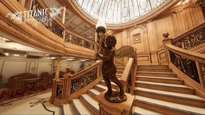 Virtual Tour of the Titanic (Виртуальная прогулка по Титанику)