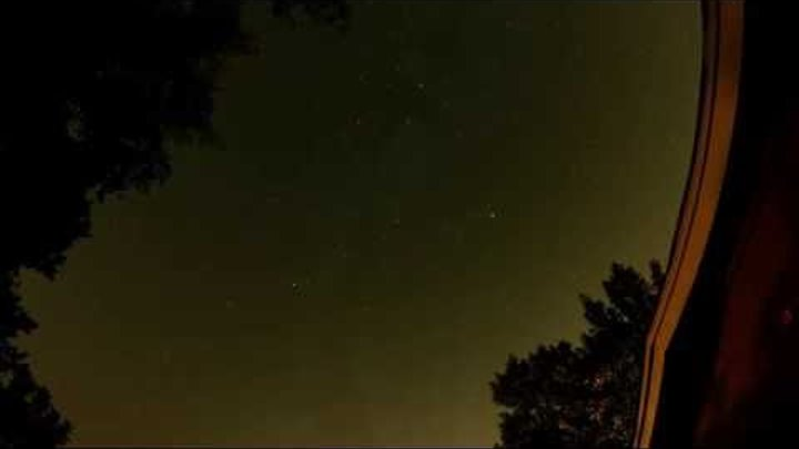 Perseid Meteor Shower 2015 Time Lapse