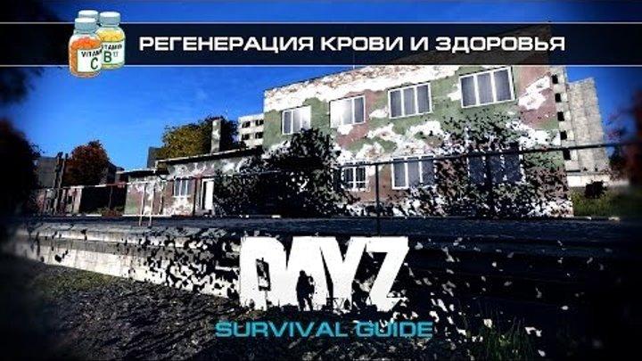 DayZ Standalone - Survival Guide - Регенерация крови и здоровья