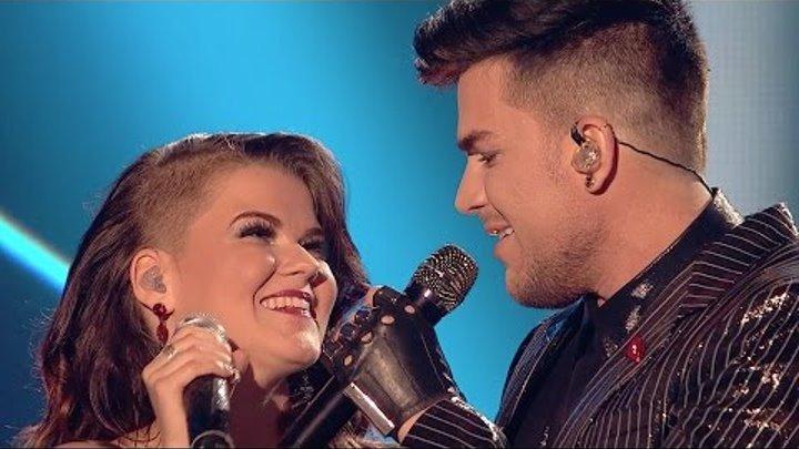 Saara Aalto & Adam Lambert perform Queen's Bohemian Rhapsody @ The X Factor UK 2016