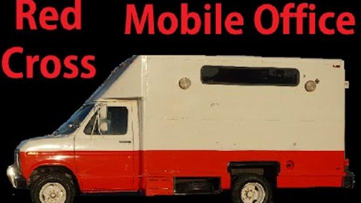 Conversion Cutaway Van Conversion RV Camper Mobile Office