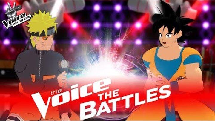 """The Voice 2017 Battle - Naruto vs Goku: """"Mashup"""""""